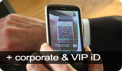 Corporate and Event VIP ID