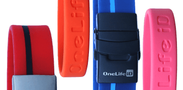 Personal ID bands, Medical ID Bracelets, Sports ID and