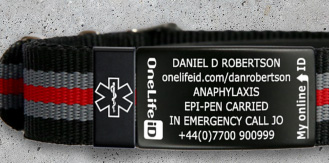 Medical ID bracelets and wristbands