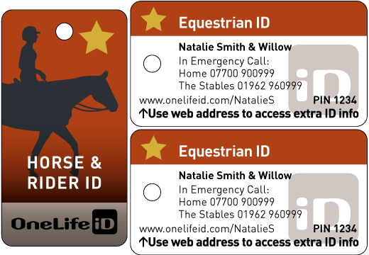 MiniTag iD for Riders and Horse