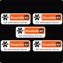 OneLife iD ICE Stickers