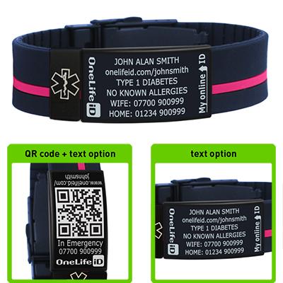 medical alert bracelets boots