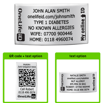 Medical Alert Bracelet: Buy Replacement ID Tags